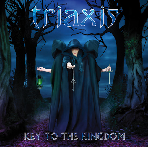 Triaxis - Key To The Kingdom Album Cover Artwork