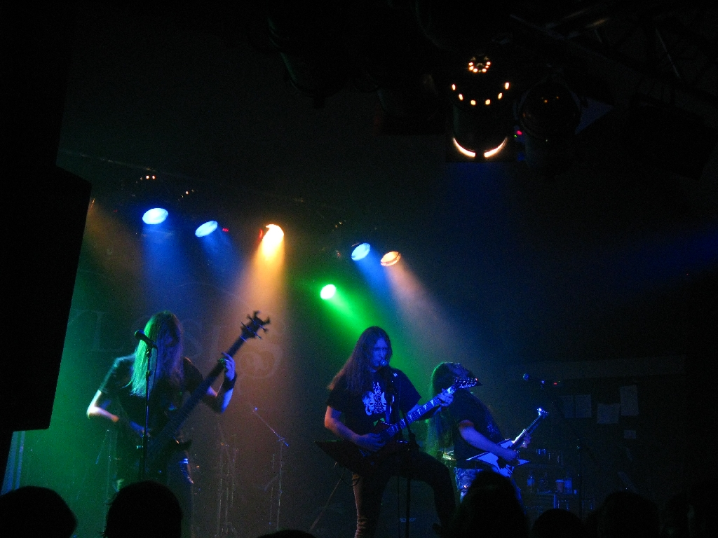 Savage Messiah On Stage In London, December 2009