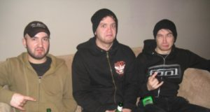Rob, Carl and Josh from Sylosis