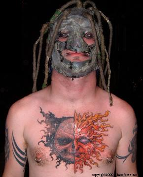 Tattoos on The Best Tattoos In Metal     Semi Finals Results