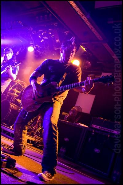Fozzy Guitarist Billy Grey