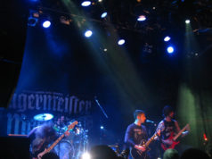 Sylosis on stage at The Jagermeister Tour in Islington