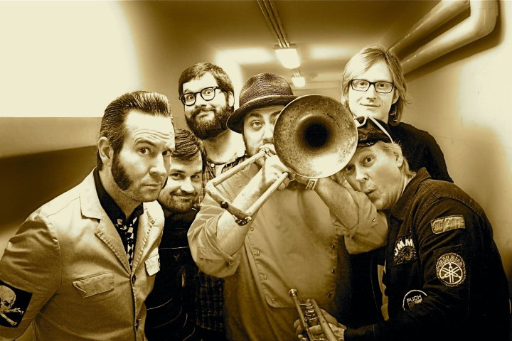 Reel big fish promo pic for Reel big fish
