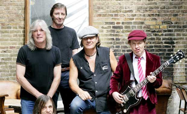 AC/DC Band Promo Photo