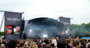 Anathema on stage at High Voltage