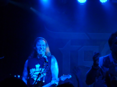 Fozzy on stage at Dingwalls, Camden