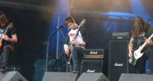 Sylosis on stage at High Voltage
