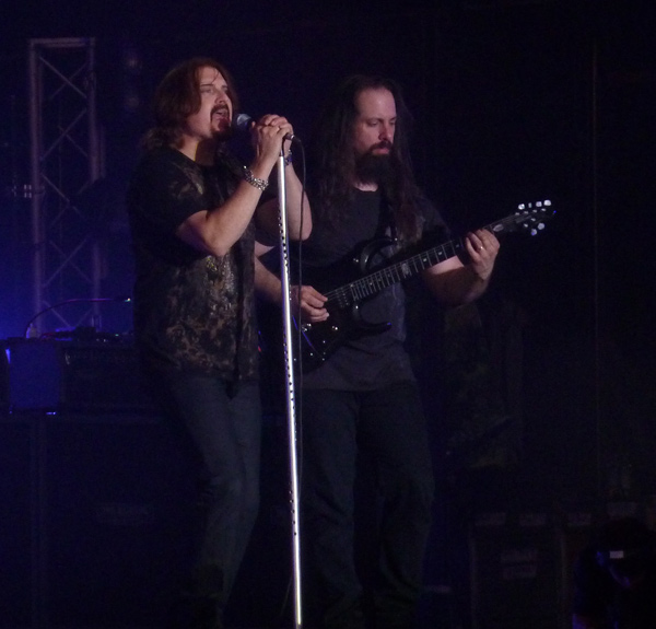James Labrie and John Petrucci from DT on stage at High Voltage 2011