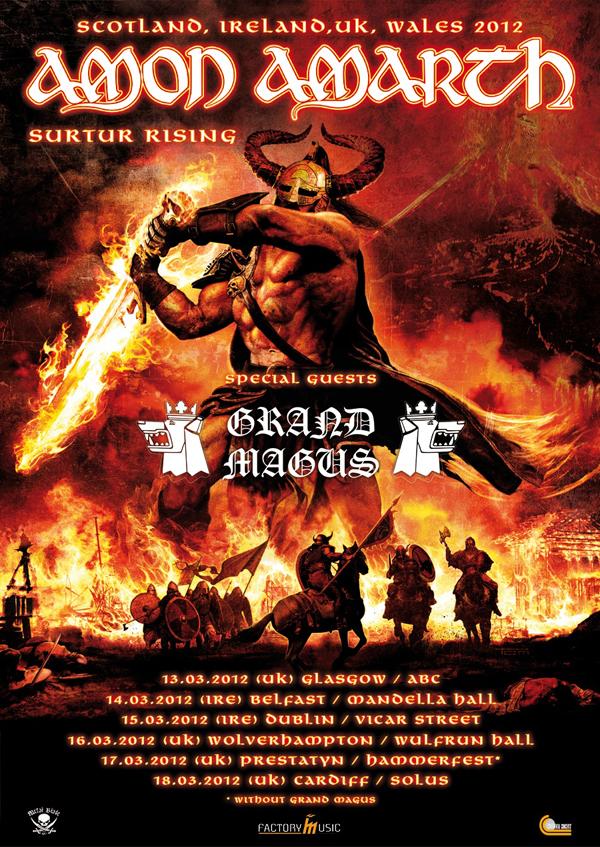 Amon Amarth Tour Uk