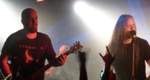 Insomnium on stage at The Camden Underworld, London, November 2011