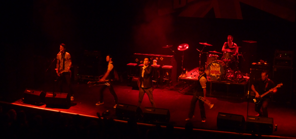 Suburban Legends on stage at Kentish Town