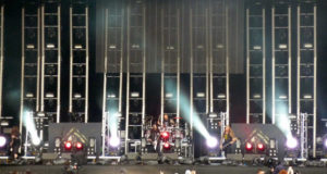 Machine Head on stage at Download Festival 2012