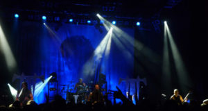 Trivium on stage at Shepherds Bush Empire London Octobner 2012