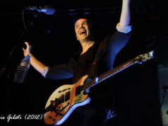 Devin Townsend on stage at The Junction in Cambridge October 2012