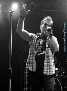 Fozzy singer & WWE superstar Chris Jericho on stage at London's Electric Ballroom Dec 2012 - Photo 4