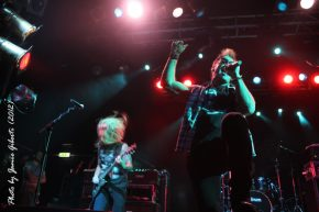 Fozzy on stage at London's Electric Ballroom Dec 2012 - Photo 2