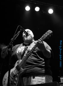 Chris Burney from Bowling For Soup on stage at Cambridge Junction, October 2012 (second photo)