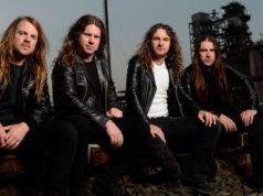 Airbourne Band Press Shot from 2013