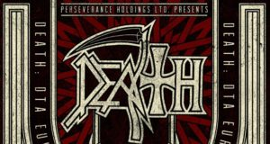 Death 2013 Tour Poster Logo Header