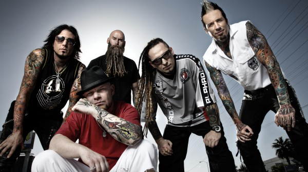 Five Finger Death Punch Band Photo 2013