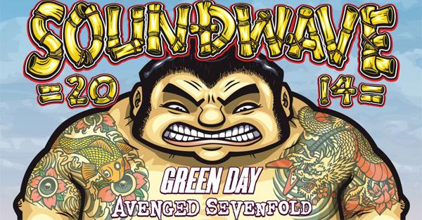 Soundwave Festival 2014 Lineup Poster Header