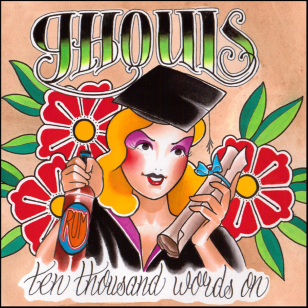 Ghouls Ten Thousand Words On Album Cover