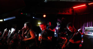 Rise To Remain on stage during Power Through Fear at The Borderline, London, Feb 2014