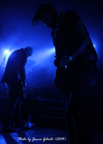 Alex Hamilton & Tom Begley of Bossk performing at Beyond The Redshift 2014