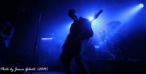 Tom Begley of Bossk on stage at Beyond The Redshift Festival 2014 in Kentish Town