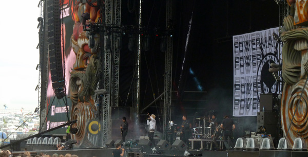 Powerman 5000 on the Stephen Sutton stage at Download Festival 2014