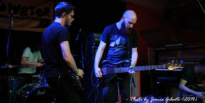Australian post metal group Sleepmakeswaves performing at Beyond The Redshift in London, May 2014