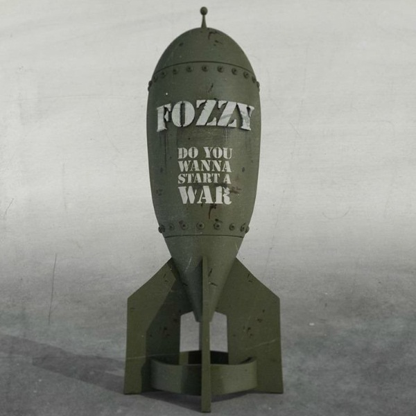 Fozzy Do You Wanna Start A War Album Cover