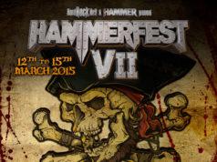 Hammerfest 7 First Line Up Poster
