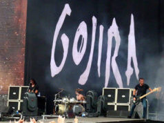 Gojira opening the final day of Sonisphere Knebworth 2014