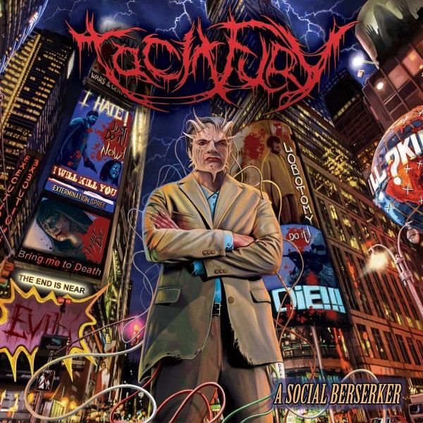 Tacit Fury - A Social Berserker Album Cover
