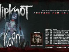 Slipknot KoRn Prepare For Hell UK Tour Header Poster