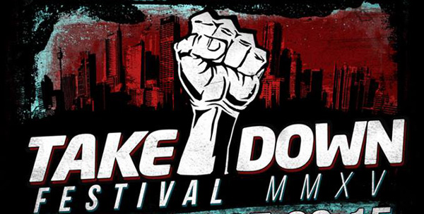 Takedown Festival 2015 Mallory Knox Headliners Header Image