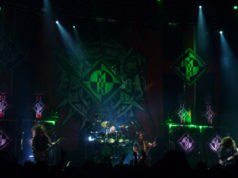Machine Head on stage at tje Camden Town Roundhouse December 2014