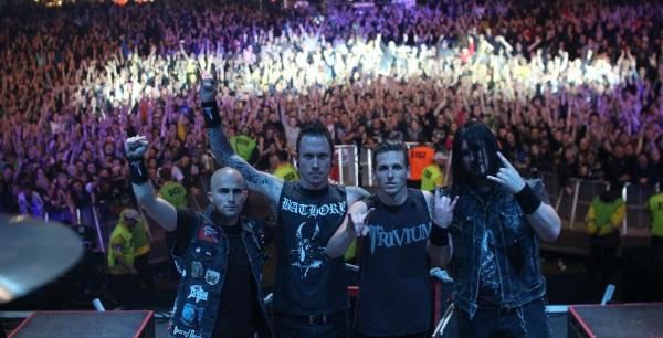 Trivium Download 2014 Promo Photo by Luke Daley