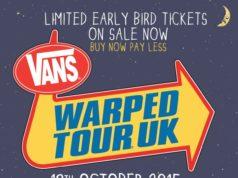 Vans Warped Tour UK 2015 First Poster