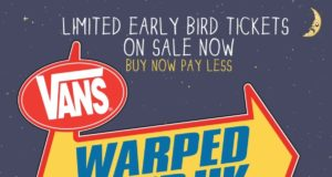 Vans Warped Tour UK 2015 First Poster