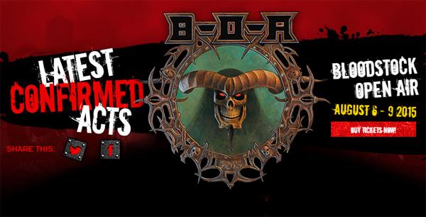 Bloodstock Open Air Festival 2015 Header Image