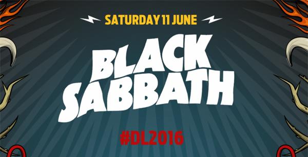 Download Festival 2016 Black Sabbath Header