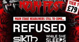 Hevy Fest 2016 First Poster Header Image