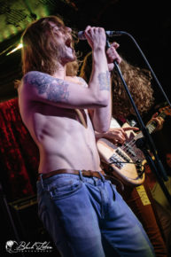 allusondrugs on stage at London Borderline 9th March 2016 for the Scuzz TV UK Throwdown Tour
