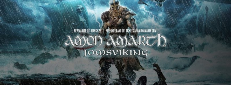 amon amarth jomsviking album launch camden underworld 22nd march 2016 rock sins. Black Bedroom Furniture Sets. Home Design Ideas