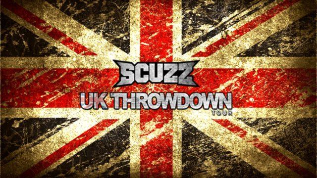 Scuzz Throwdown UK Tour