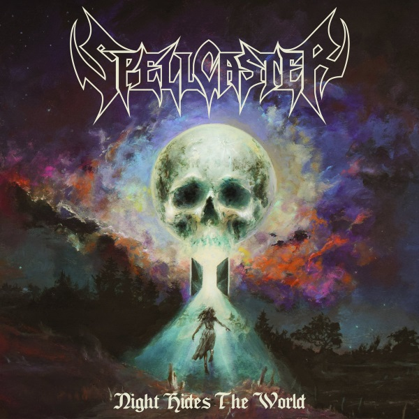 Spellcaster - Night Hides The World Album Cover