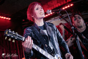 ashestoangels on stage at the Borderline 30th April 2016