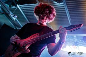 A Dark Orbit on stage at UK Tech-Metal Fest 2016 9th July 2016